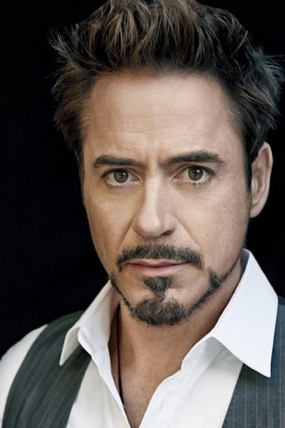 The Robert Downey Jr. Straight Upsweep