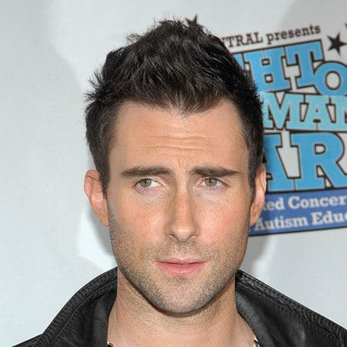 adam levine with rad hairdo