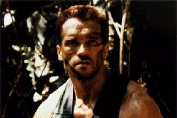 Arnold Schwarzenegger's Flat Top Haircut