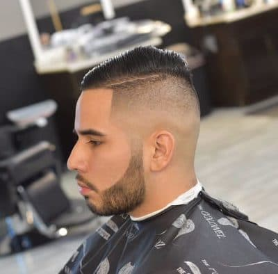 Easy-to-care-for Bald Fade
