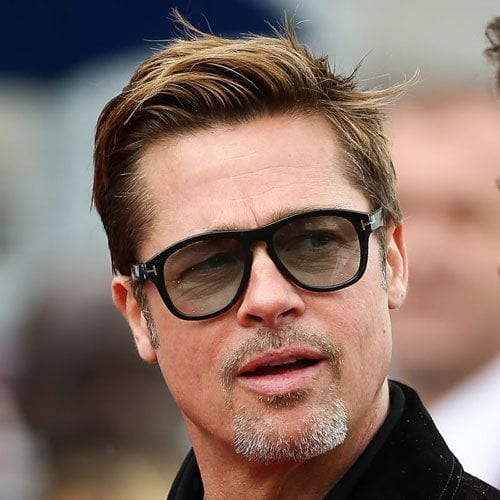 brad pitt comb over haircut