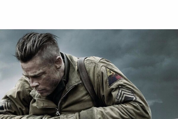 Brad Pitt's Comb Over