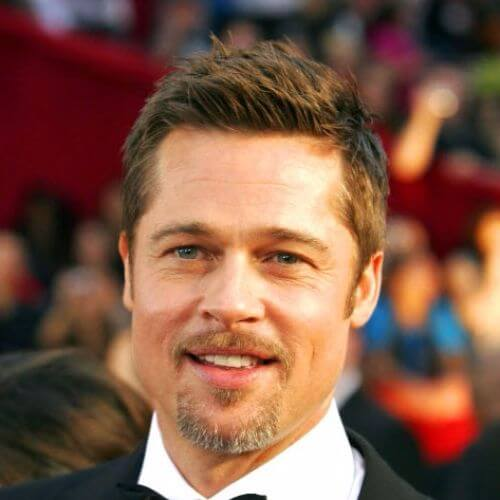 brad pitt on the red carpet