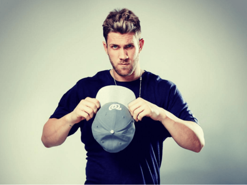 40 Bryce Harper Hair Ideas To Hit Your Home Run Menhairstylist Com