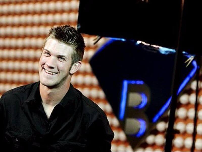 bryce harper at a tv show