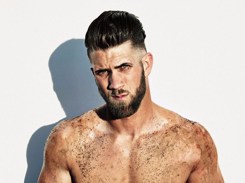 hot bryce harper look