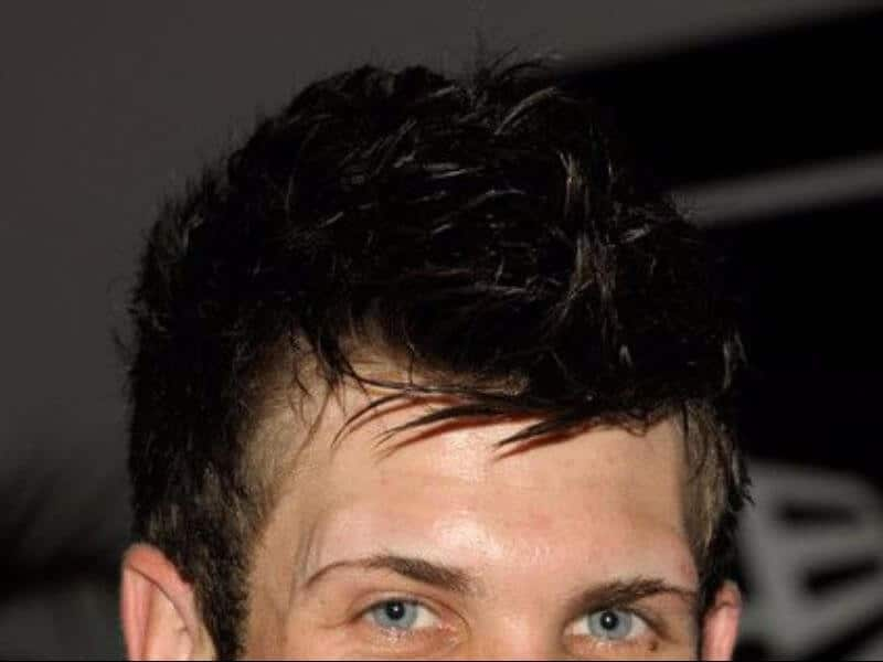 bryce harper hair close up