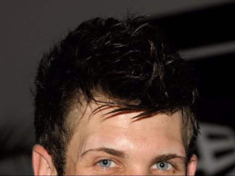 bryce harper hair close up