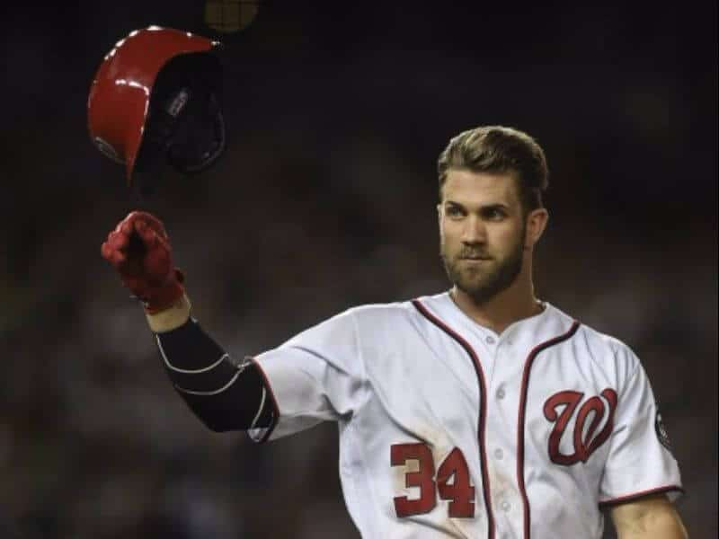natural looking bryce harper hairstyle