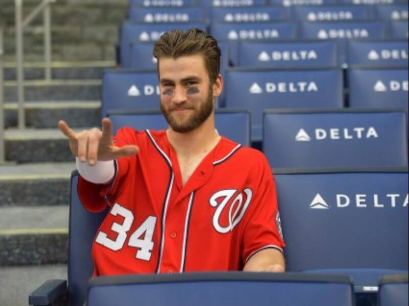 bryce harper cool haircut