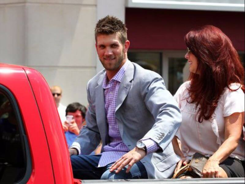 bryce harper wearing a suit