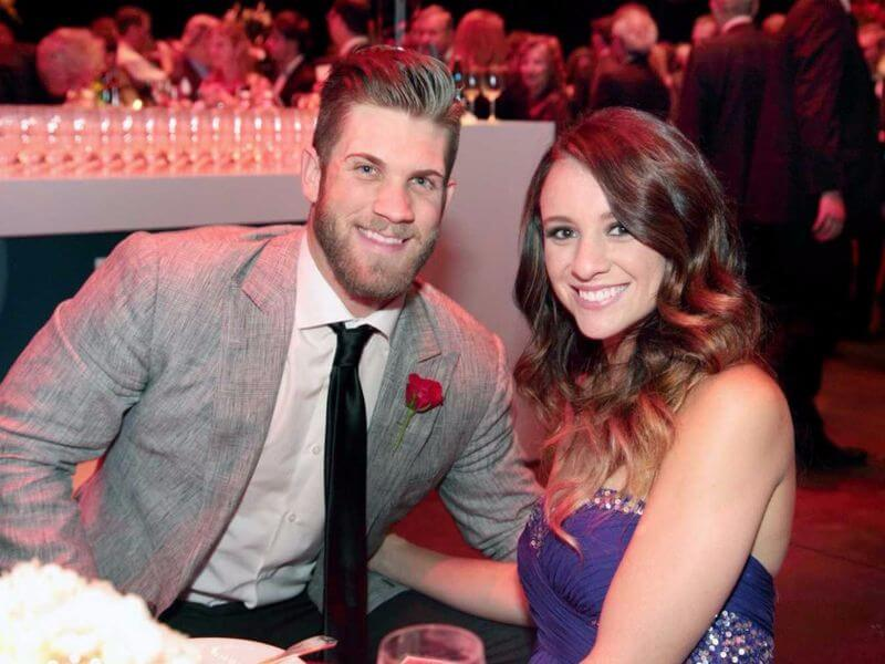 bryce harper and his girlfriend