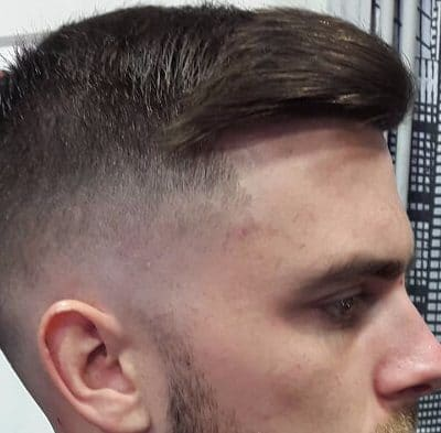 Clean Cut Comb Over for Brown Hair