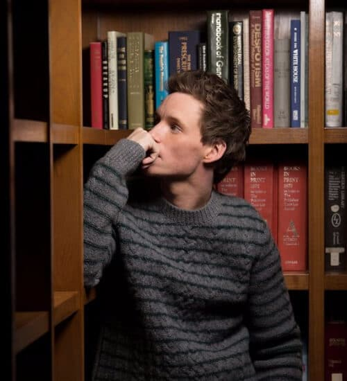 eddie redmayne ivy league haircut