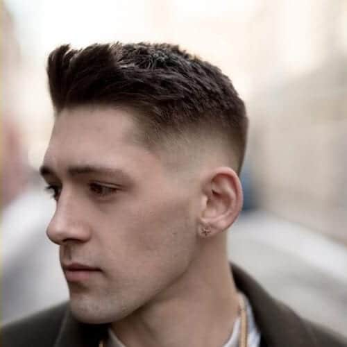 fancy mid fade haircut