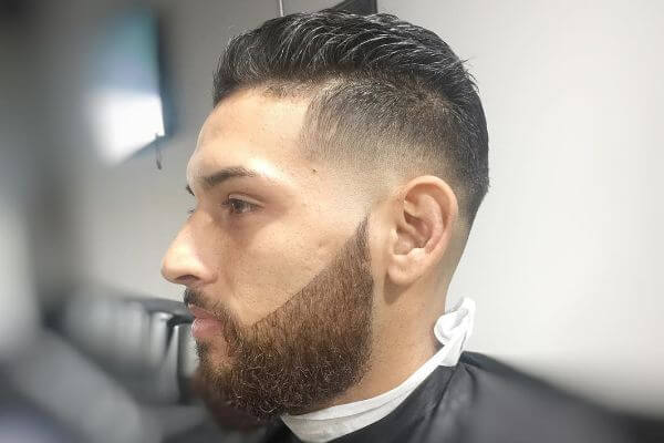 Wavy flat Top and Beard