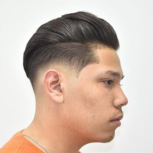 swept hairdo
