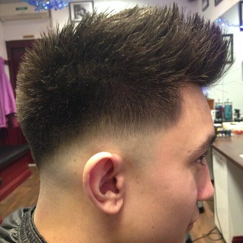 45 Best Fohawk Haircut Styles | MenHairstylist.com