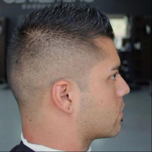 guy with tapercut