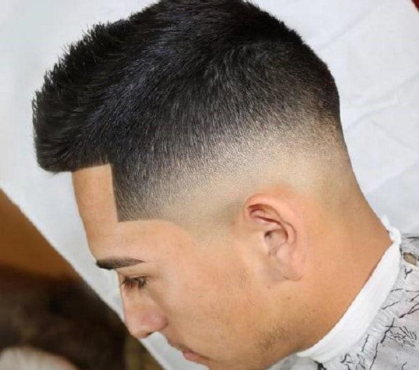 Fade Ivy league haircut