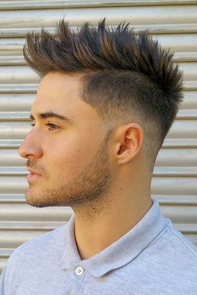 Messy Spikes and Faded Sides