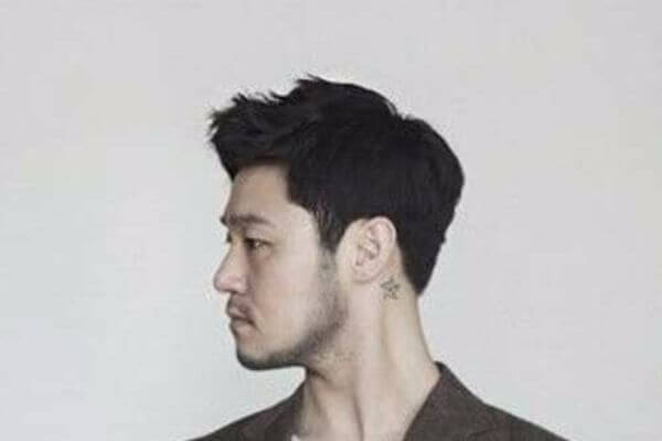 Rugged Short Hairstyle for Asian Men