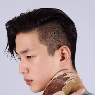 Shaved Sides Haircut