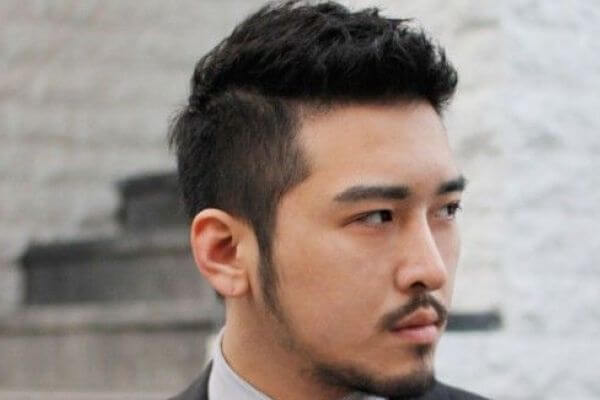 Asian Man Medium Hairstyles