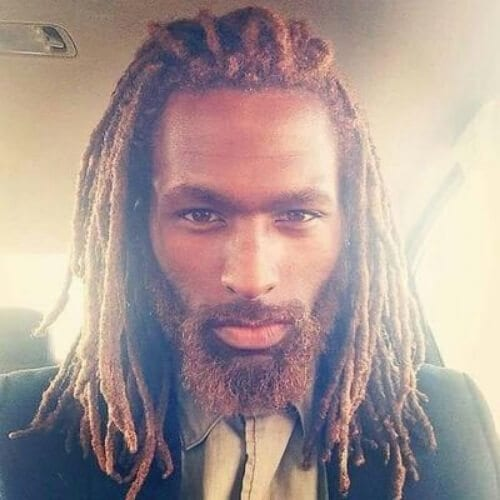 simple dread styles for men