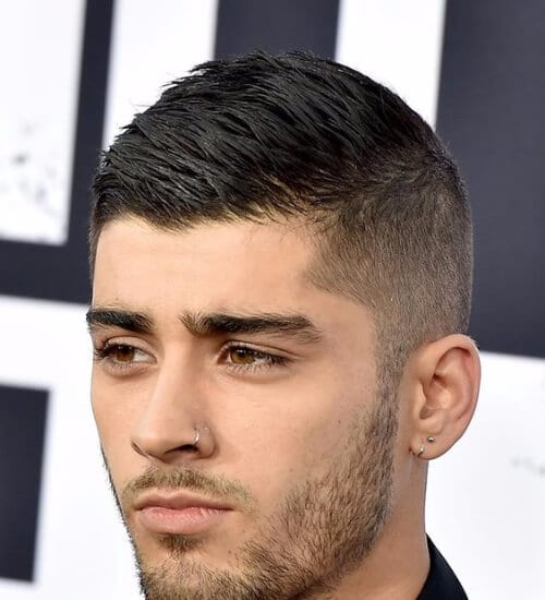 zayn malik ivy league haircut