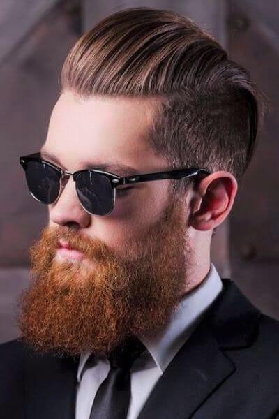 Dashing Undercut Hairstyle and Beard