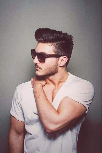 Electric Undercut Hairstyle