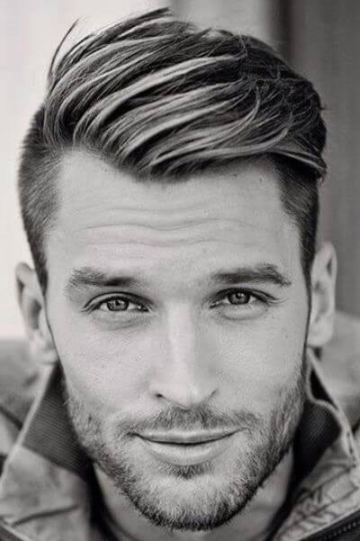 Gentleman Undercut Hairstyle