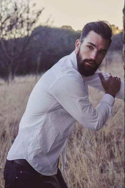 Slick Undercut and Beard