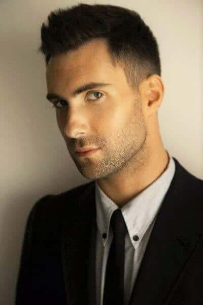The Adam Levine Undercut Hairstyle