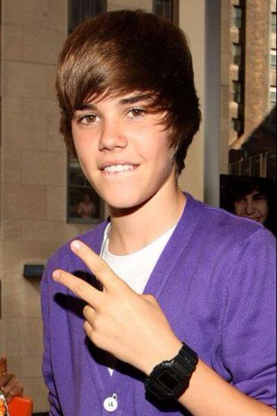 The Long Side Bangs Justin Bieber Haircut