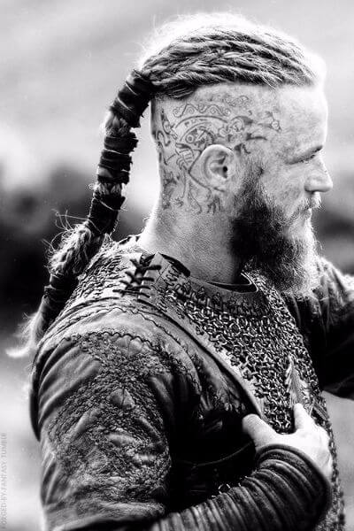 The Ragnar Lothbrock Undercut Hairstyle