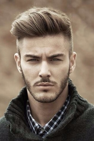 natural quiff hairstyle