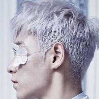 Platinum Effect Hairstyle