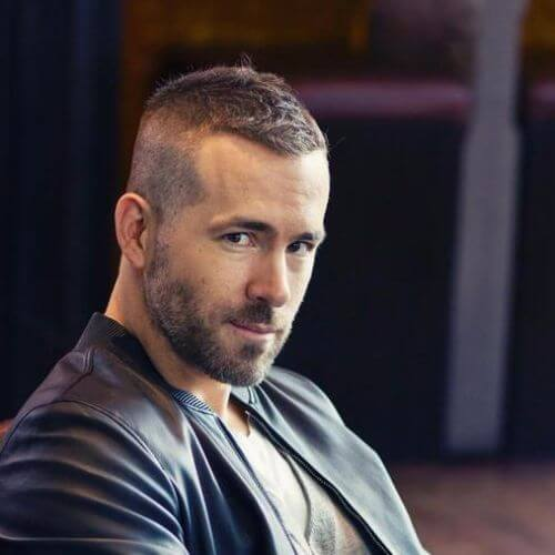 ryan reynolds buzz cut