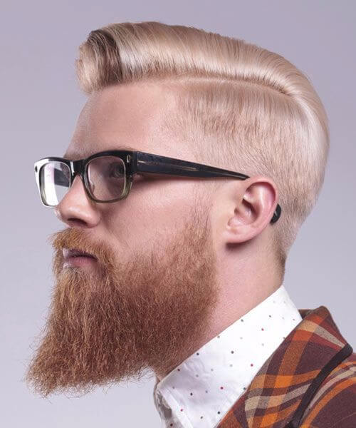 cylinder-like hipster haircut