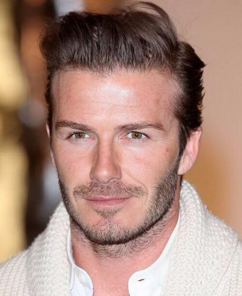 david beckham hair long top