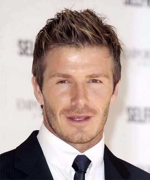 david beckham hair messy long top