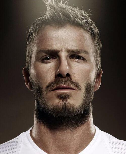 David Beckham Hair Messy Short