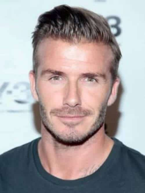 david beckham hair undercut hairstyle