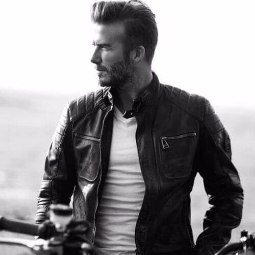 david beckham hair with long top