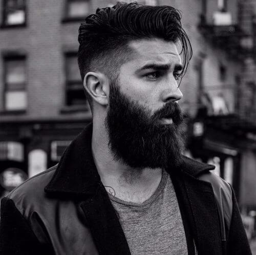 hipster haircut for long and dark hair
