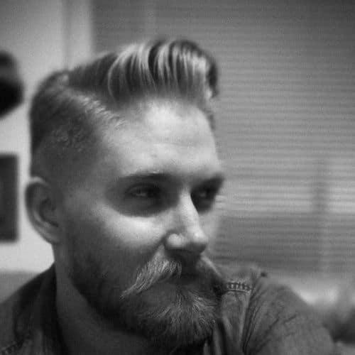 hipster military haircut