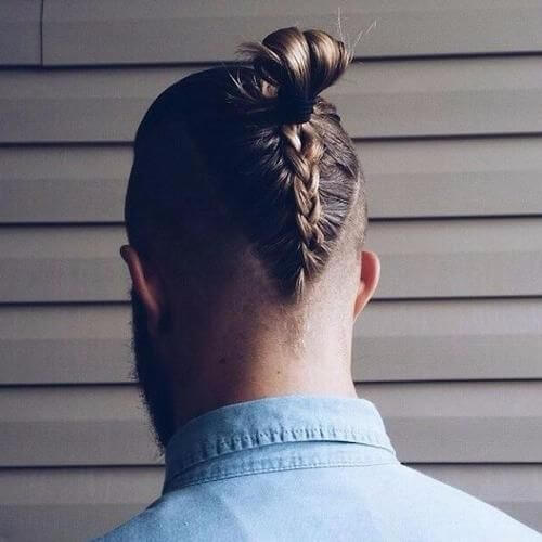 long braided undercut hipster haircut