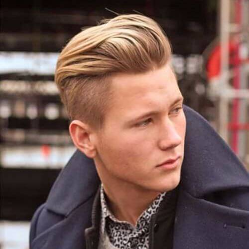 hipster haircut with long undercut